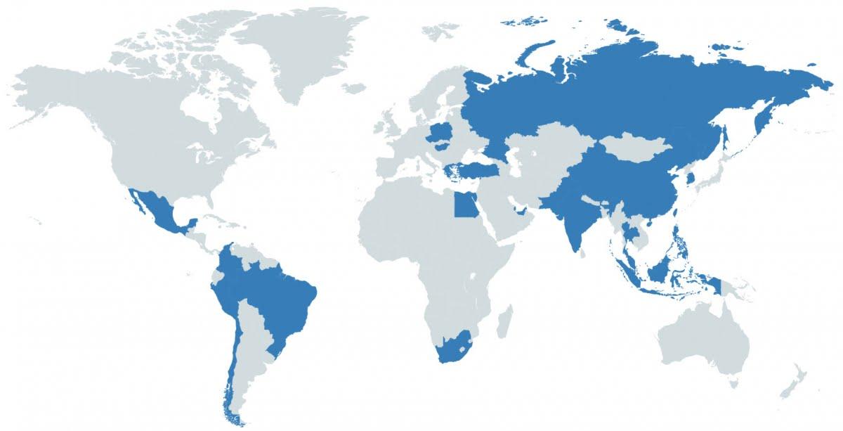 msci world emerging markets etf